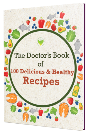 The Doctor's Book of 100 Delicious Helthy Recipes Cover